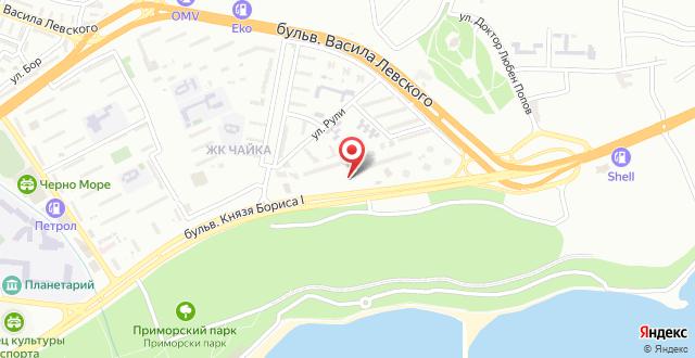 BEST WESTERN Park Hotel на карте