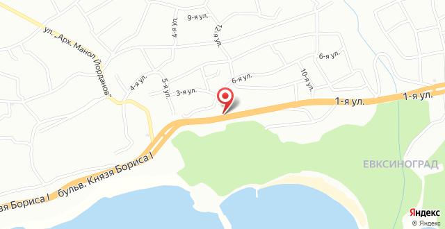 Ellinis Hotel на карте