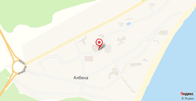 Отель Алтея на карте