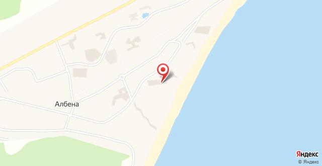 Отель Калиопа на карте