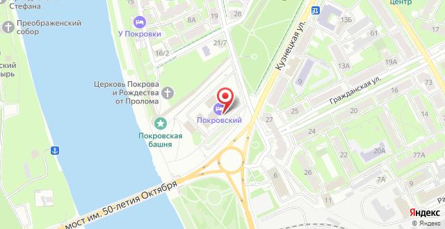 Гостиничный комплекс Покровский на карте