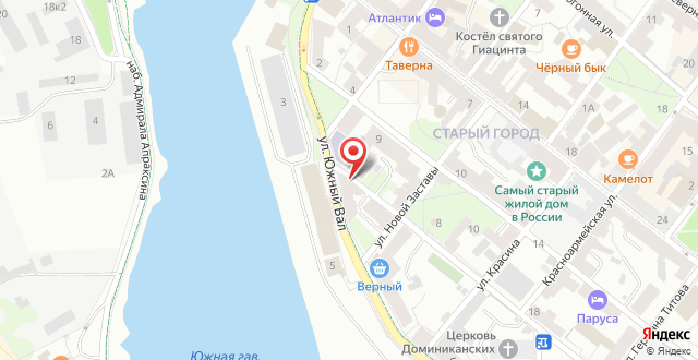Апарт-отель Apartment Vyborg на карте