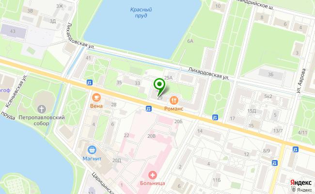 Сбербанк Санкт-петербург г. Петергоф, проспект Санкт-Петербургский 29, лит. А карта