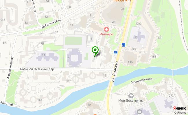 Сбербанк Санкт-петербург г.Сестрорецк, ул. Токарева 16, лит. А карта