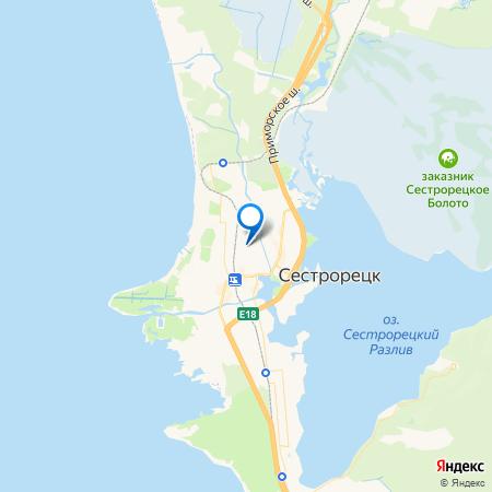 Морской конек на карте