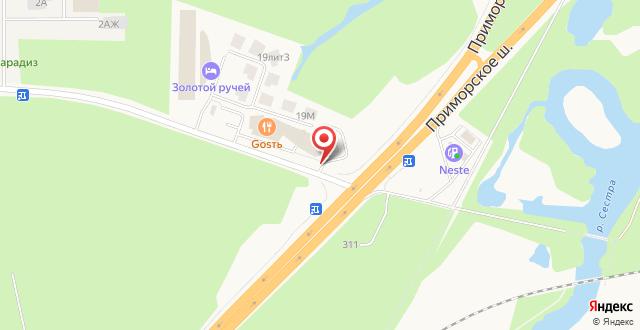 Мини-отель Золотой Ручей на карте