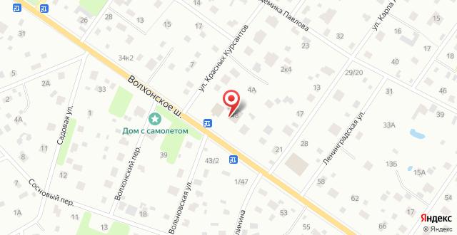 Отель Место Силы на карте
