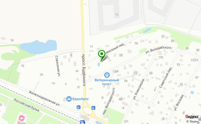Сбербанк Санкт-петербург г. Сестрорецк, ул. Володарского 4/2, лит. А карта