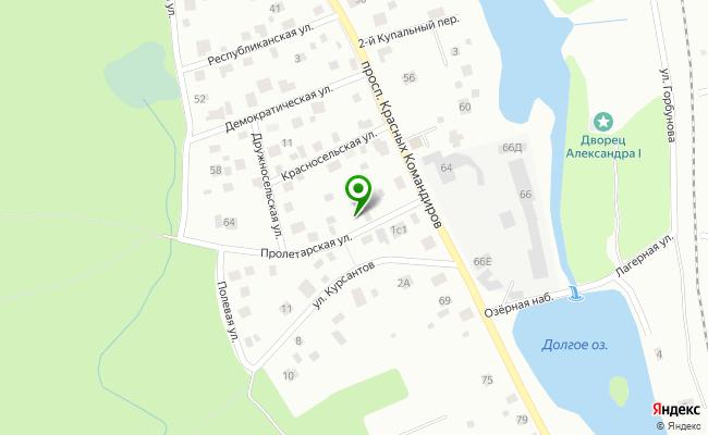 Сбербанк Санкт-петербург г. Кронштадт, ул. Пролетарская 17, пом. 3Н,  лит. А карта