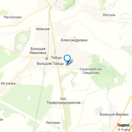 Демидовский парк на карте