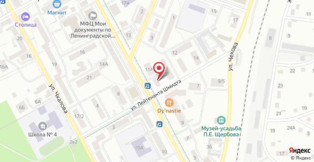 Гостевой дом Варшавский на карте