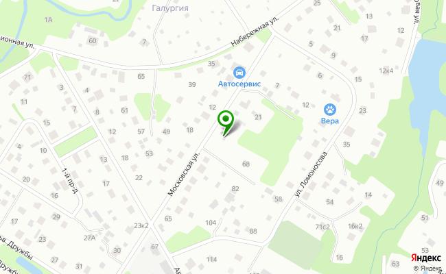 Сбербанк Санкт-петербург г. Пушкин, ул. Московская 33, лит. А карта