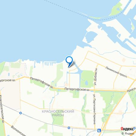 Жемчужный каскад на карте