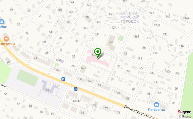 Сбербанк Санкт-петербург п. Песочный, ул. Ленинградская 52, лит. А карта