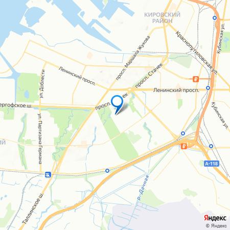 Усадьба Воронцовых на карте