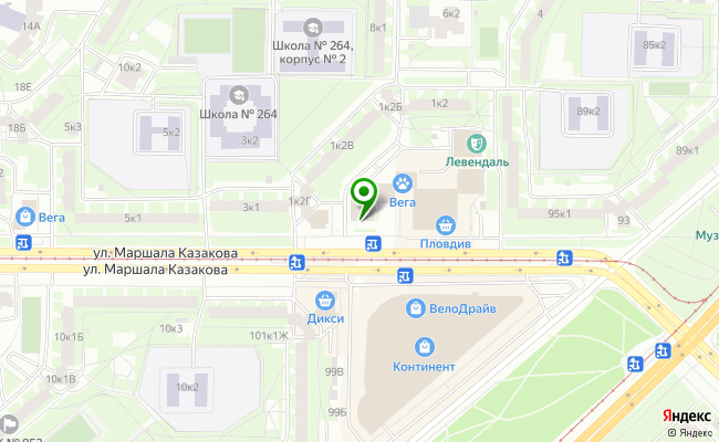 Сбербанк Санкт-петербург ул. Маршала Казакова 1, корп.1, лит. Д карта