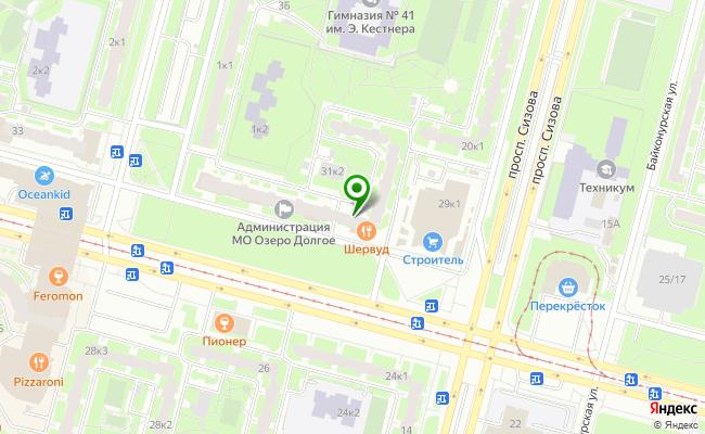 Сбербанк Санкт-петербург проспект Испытателей 31, корп.1, лит. А карта