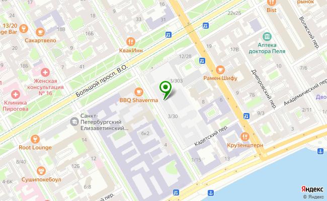Сбербанк Санкт-петербург ул. 11-я линия В.О. 14/39, пом. 3Н, лит. А карта