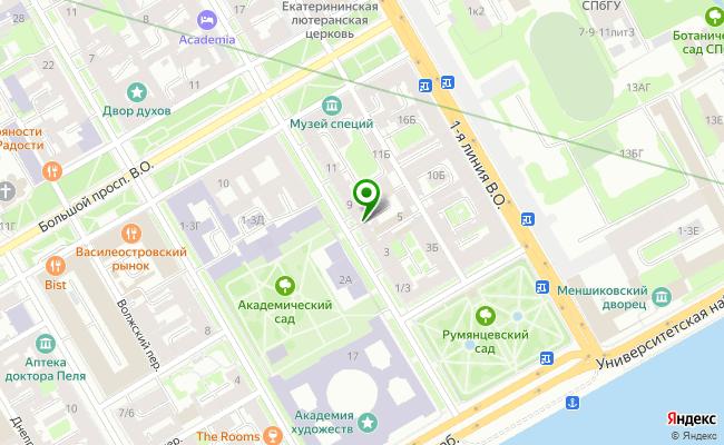 Сбербанк Санкт-петербург ул. 3-я линия В.О. 34, лит. А, пом. 2Н-7Н карта