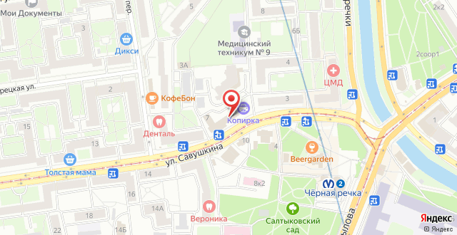 Мой Отель на карте