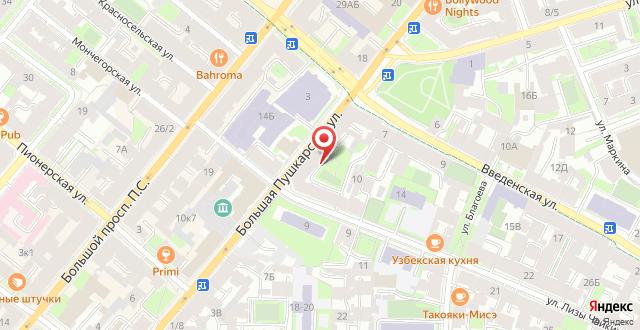 Мини-гостиница Шарм на карте