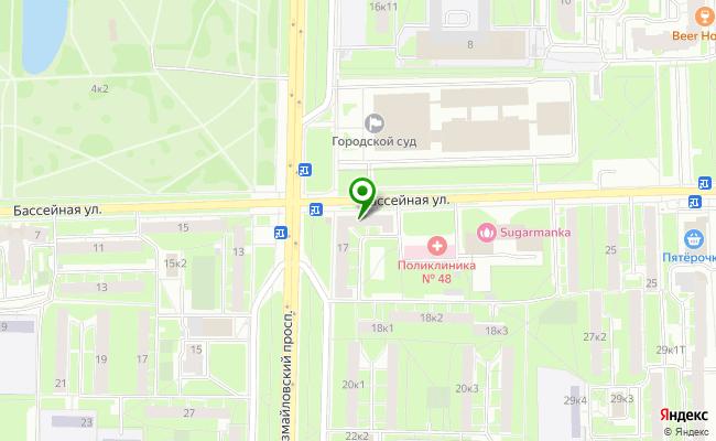 Сбербанк Санкт-петербург ул. Бассейная 17, лит. А карта