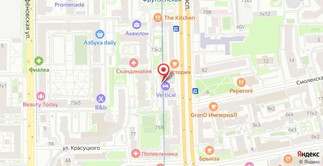 Апарт-отель Вертикаль на карте