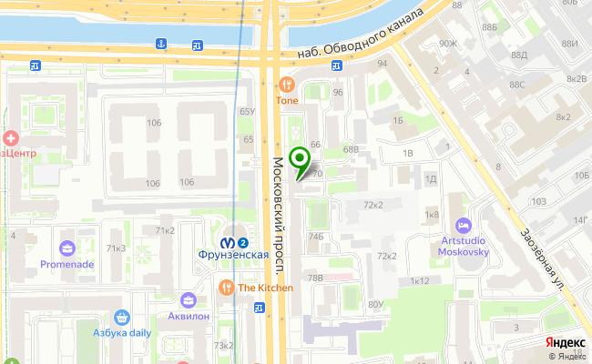 Сбербанк Санкт-петербург проспект Московский 70, лит. А карта