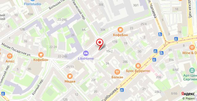 Гостиница LikeHome на карте