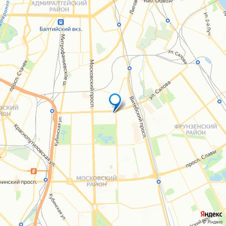 клубный дом Б57 на карте