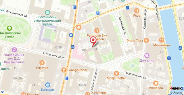 Мини-отель Петр на карте