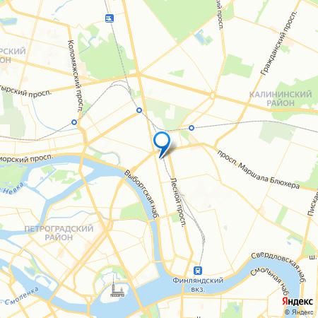 жилой комплекс Кантемировская 11 на карте