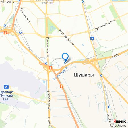ЦДС Московский на карте
