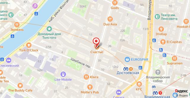 Хостел Салют на карте