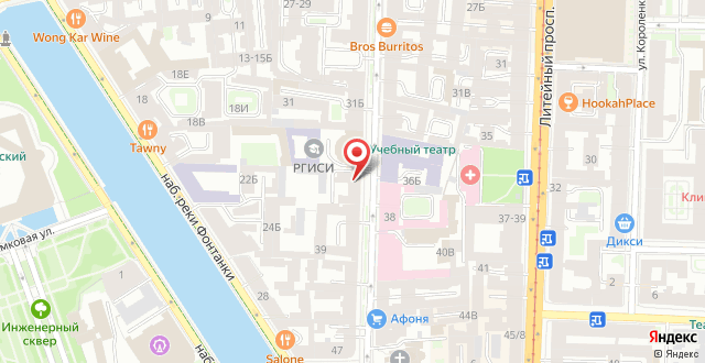 Апартаменты Sokroma Daily Aparts на карте
