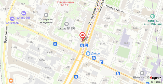 Невский Отель Форт на карте