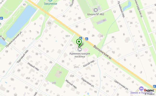 Сбербанк Санкт-петербург п.Александровская, шоссе Волхонское 33, лит. А карта