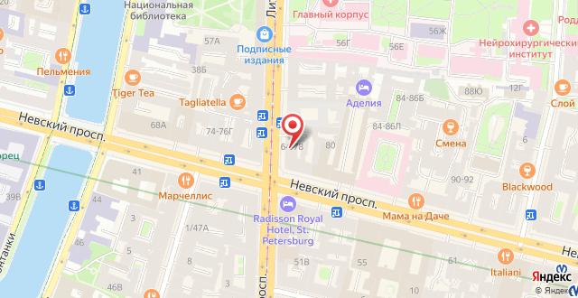 Гостиница RestHostel на карте