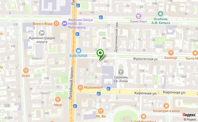 Сбербанк Санкт-петербург ул. Фурштатская 5 карта