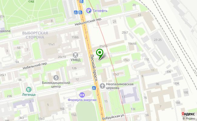 Сбербанк Санкт-петербург проспект Лесной 19, корп.1 карта