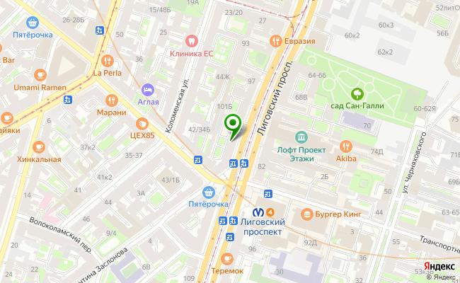 Сбербанк Санкт-петербург проспект Лиговский 105, лит. А карта