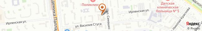 Автошкола Статус+ на карте, г. Киев, ул. Семашко, 13