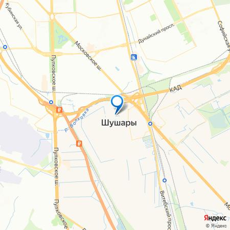 Нордика на карте