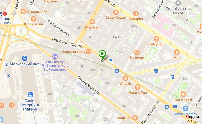 Сбербанк Санкт-петербург проспект Невский 99-101, лит. А карта