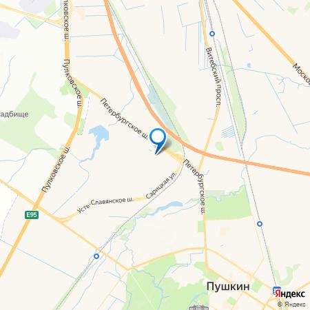 Трио (Петротрест) на карте
