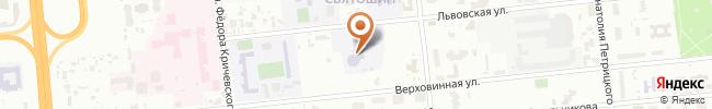 Автошкола Авто-ювас на карте, г. Киев, ул. Львовская, 23