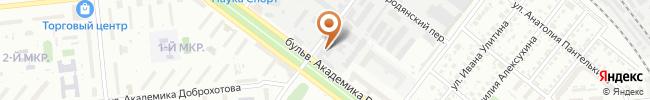 Автошкола Штурман на карте, г. Киев, ул. Крымского, 4а, оф.205