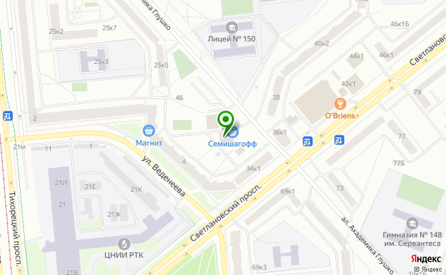 Сбербанк Санкт-петербург проспект Светлановский 36, корп.3, лит. А карта