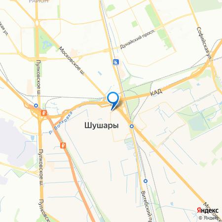 UP-квартал Московский на карте