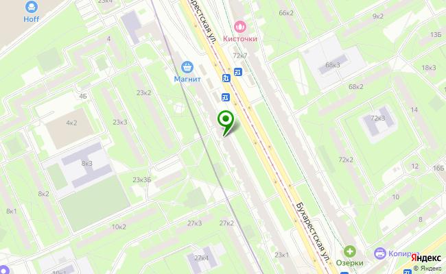 Сбербанк Санкт-петербург ул. Бухарестская 23, корп.1 карта